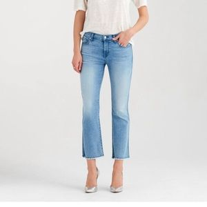 NWT 7 for all Mankind b (air) cropped boot jeans